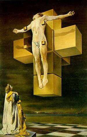 300px-Dali_Crucifixion_hypercube